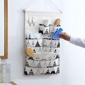 掛袋 收納袋掛袋墻掛式掛兜門后壁掛懸掛式寢室宿舍布藝墻上置物儲物袋 曼慕衣櫃