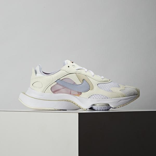 Nike Air Zoom Division 女鞋 白灰 復古 氣墊 緩震 舒適 休閒鞋 CK2950-100