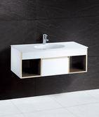 《修易生活館》 凱撒衛浴 CAESAR 面盆浴櫃組系列 一體瓷盆 LF5028 A 浴櫃 EH6100 (不含龍頭)