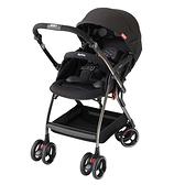 Aprica 愛普力卡 四輪自動定位導向型嬰幼兒手推車 Optia新視野-酷點黑【佳兒園婦幼館】