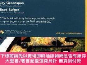 二手書博民逛書店Mysql php罕見Database ApplicationsY255174 Jay Greenspan W