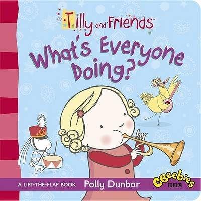 【麥克書店】『快樂讀出英語力』TILLY & FRIENDS:WHAT'S EVERYONE DOING /硬頁書