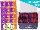 【套套先生】愛貓 果香味 保險套 144片裝 薄荷( 家庭計畫 衛生套 熱銷 情趣 推薦 單片5.2元 )