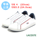 LACOSTE 女用休閒鞋-白 983...