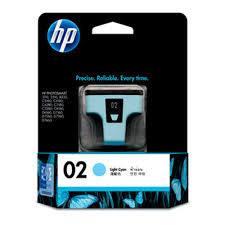 HP C8774WA NO.02原廠淡青色墨水匣 適用3110/3310/5180/6180/6280/7180/7280/8180/7160/7260/7360/7460/8230(原廠品)