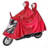 成人雨衣自行車電瓶車加大加厚防水雨披zh897【大尺碼女王】