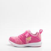 FILA  兒童慢跑鞋-桃/粉 2-J822S-225