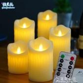 LED蠟燭燈-充電遙控款仿真石蠟搖擺led電子蠟燭燈 店吧臺私人會所浪漫裝飾 花間公主