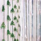 Wolan掛飾-白色/綠色 5入裝 長238cm 附不鏽鋼鉤針/可剪裁