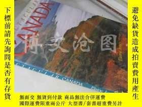二手書博民逛書店Spectacular罕見Canada(8開精裝 英文原版 )(加拿大風光畫冊)Y16472 Elaine J