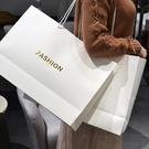 紙袋手提袋定制服裝店袋子定做logo高檔牛皮紙購物禮品包裝袋簡約  快速出貨