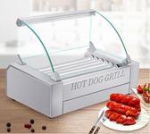 熱狗機 烤腸機 烤香腸熱狗機全自動烤火腿腸機器家用迷妳小型LX220V 莎瓦迪卡