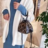 高級感手提包網紅豹紋包質感單肩包包女2019新款潮百搭洋氣斜挎包