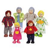 德國 Hape 愛傑卡 娃娃屋系列 現代白人家庭