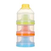 Pigeon/貝親奶粉盒大容量的三層儲存盒CA07 獨立開口分裝