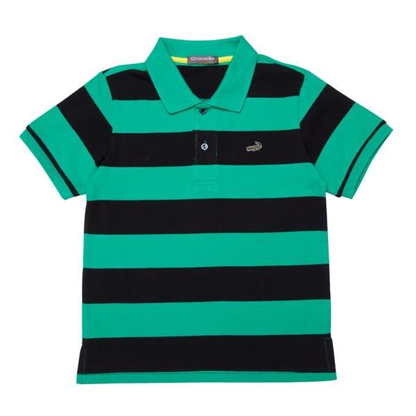 『小鱷魚童裝』休閒條紋POLO衫(08號~20號)531104