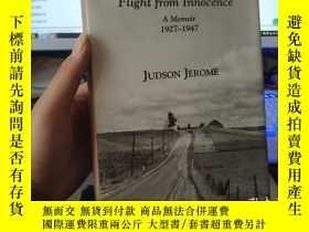 二手書博民逛書店Flight罕見from Innocence A Memoir