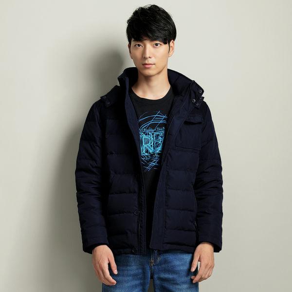 【101原創】台灣設計.連帽拼接防風保暖羽絨外套(男)-共2色