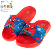 《布布童鞋》Marvel英雄系列蜘蛛人離家日紅色立體兒童輕量拖鞋(17~22公分) [ B9F012A ]