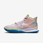 Nike Kyrie 7 Ep [CQ9327-600] 男 籃球鞋 運動 明星款 厄文 氣墊 避震 包覆 支撐 粉紅