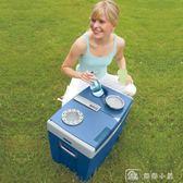 冰箱制冷小型迷你小冰箱12V車家兩用冷暖箱24V大貨車T35 igo 下殺