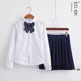 JK制服少女圓領襯衫校服班服演出服軟妹寫真日本水手服學院風套裝