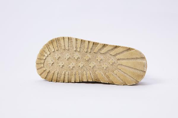(24hr出貨) 真皮流蘇魔鬼氈鉚釘厚底涼鞋  拚色舒適質感厚底拖鞋 mo.oh (歐美鞋款)
