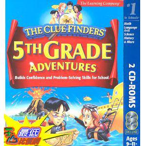 [美國直購 ShopUSA] Clue Finders 5th Grade  $689