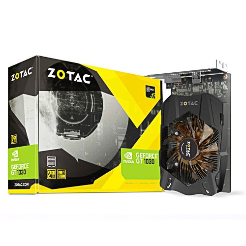 ZOTAC 索泰 GeForce? GT 1030 2G 顯示卡