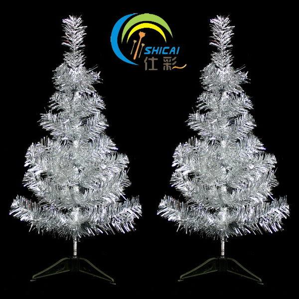 聖誕用品 60CM銀色聖誕樹