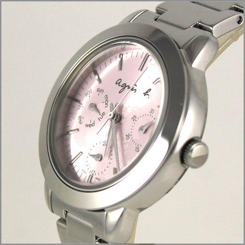 【萬年鐘錶】agnes b 時尚腕錶  BYU062P1 (V33J-0ALAR)