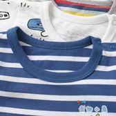 嬰兒衣服連身衣 短袖爬爬服平角哈衣【奇趣小屋】