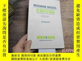 二手書博民逛書店measuring罕見success:how robin hoo