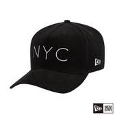 NEW ERA 9FORTY 940KF 燈心絨 NYC 黑 棒球帽