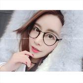 現貨-韓國ulzzang原宿復古平光眼鏡框架圓框眼鏡框復古框架鏡原宿復古眼鏡架潮流平光鏡5
