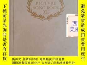 二手書博民逛書店【包罕見】 A Picture Song Book,Earl o