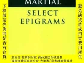 二手書博民逛書店Martial罕見: Selected Epigrams (ca