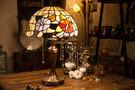 Tiffany彩繪玻璃 經典 鬱金香檯燈...