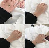 手鍊 手鍊女韓版招桃花轉好運幸運簡約個性學生清新森繫閨蜜珠子手飾品