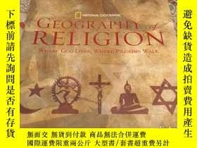 二手書博民逛書店Geography罕見of Religion: Where Go