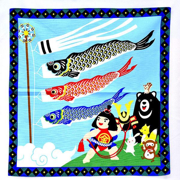 金太郎與鯉魚旗 手拭 包巾 屏風 日式 輕鬆改變居家風格 裝飾 日本製