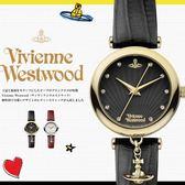【人文行旅】Vivienne Westwood | VV108BKBK 英國時尚精品腕表 32mm 土星 設計師款 女錶