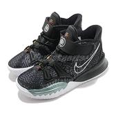 Nike 籃球鞋 Kyrie 7 PS 黑 白 中童鞋 童鞋 小朋友 厄文 KI7【ACS】 CT4087-002