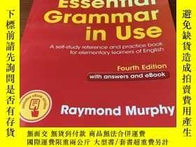 全新書博民逛書店EssentialGrammar in Use with Answers and Interactive eBoo