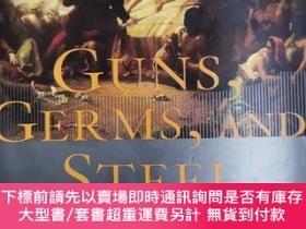 二手書博民逛書店英文原版:GUNS GERMS罕見AND STEELY367822 JARED DIAMOND 略 出版