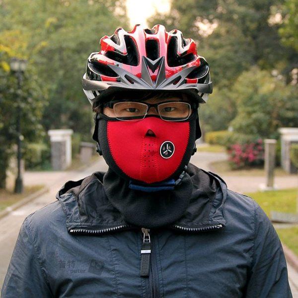 【MR0013】秋冬季機車自行車騎行口罩 戶外防風防寒防塵護臉騎行面罩 單車電動車騎士面罩