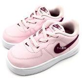 《7+1童鞋》小童 NIKE FORCE 1'18 (TD) 經典設計 運動鞋 慢跑鞋 F857 粉色