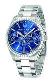 【Maserati 瑪莎拉蒂】/三眼鋼帶錶(男錶 女錶)/R8853100009/台灣總代理原廠公司貨兩年保固