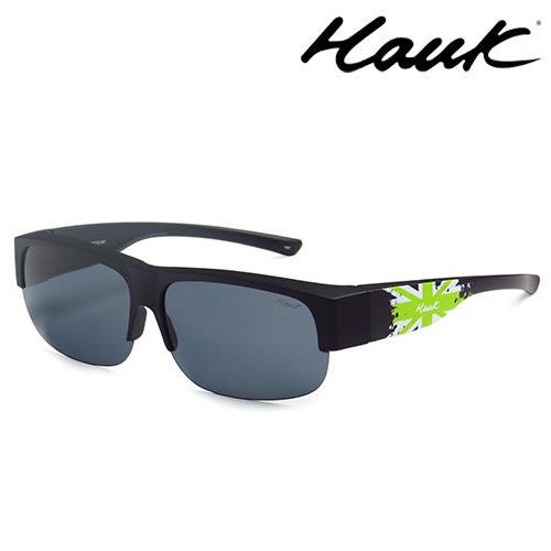 HAWK偏光太陽套鏡(眼鏡族專用)HK1602-G1