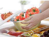 圓形彩色不銹鋼盆帶蓋加厚加深面盆洗菜盆湯盆打蛋盆調理盆湯碗【潮咖地帶】